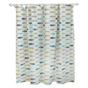 Pillowfort Kids Shower Curtain Fish 72 in x 72 in